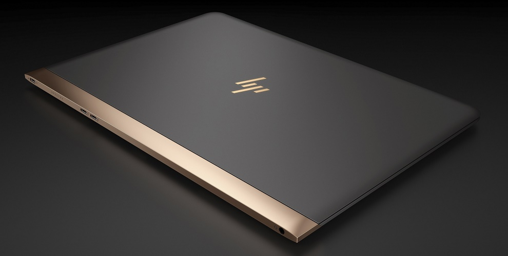 HP Spectre 13 Aerial View